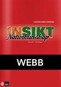 Insikt Naturkunskap 1a:1 Lärarhandledning Webb