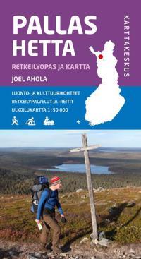 Pallas-Hetta retkeilyopas ja kartta 2015, 1:50 000