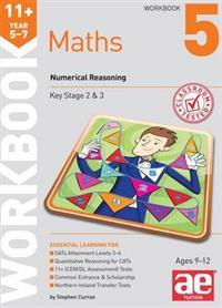 11+ maths year 5-7 workbook 5 - numerical reasoning