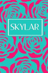 Skylar: Personalized Name Journal