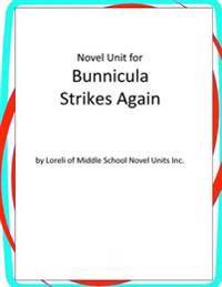 Novel Unit for Bunnicula Strikes Again
