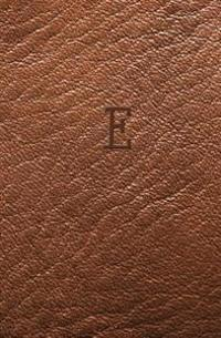 E: Personalized Initial Journal