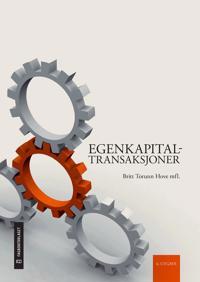 Egenkapitaltransaksjoner - Britt Torunn Hove pdf epub