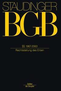 §§ 1967-2063: (rechtsstellung Des Erben)