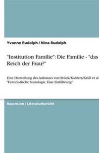 Institution Familie
