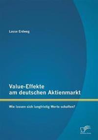 Value-Effekte Am Deutschen Aktienmarkt