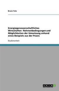 Energiegenossenschaftliches Wirtschaften - Rahmenbedingungen Und Moglichkeiten Der Umsetzung Anhand Eines Beispiels Aus Der Praxis