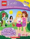 Lego Friends: A Day in Heartlake City (Sticker Storybook)