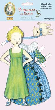 Klippdocka Onetta : Prinsessor och drakar