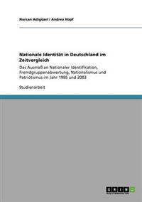 Nationale Identitat in Deutschland Im Zeitvergleich