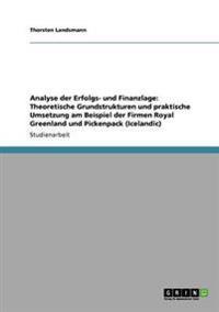 Analyse Der Erfolgs- Und Finanzlage