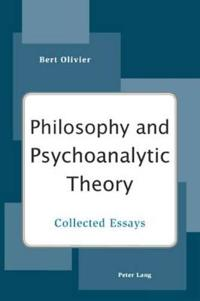 Philosophy and Psychoanalytic Theory