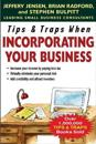 Tips & Traps When Incorporating Your Business