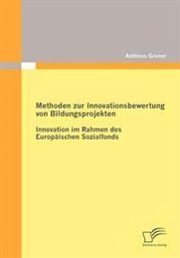 Methoden Zur Innovationsbewertung Von Bildungsprojekten