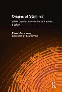 Origins of Stalinism