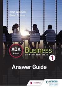 Aqa a Level Business 1 (Wolinski & Coates) Answers