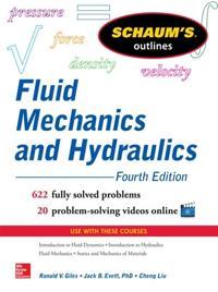 Fluid Mechanics and Hydraulics