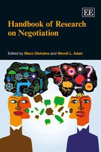 Handbook of Research on Negotiation