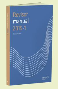 RevisorManual 2015/1