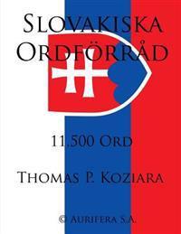Slovakiska Ordforrad