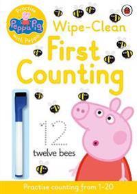 Peppa Pig  Practise with Peppa  Wipe-Clean Counting - Peppa Pig - böcker (9780723297765)     Bokhandel