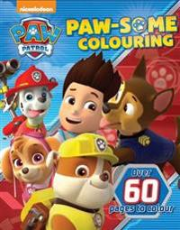 Nickelodeon Paw Patrol Paw-Some Colouring