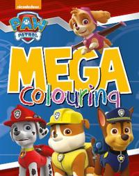 Nickelodeon paw patrol mega colouring