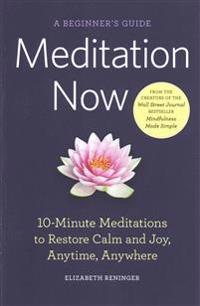 Meditation Now: A Beginner's Guide
