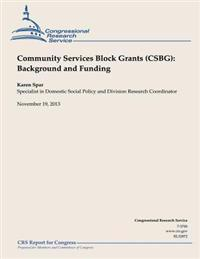 Community Services Block Grant (Csbg): Background and Funding