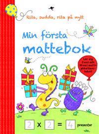 Min första mattebok: Rita, sudda, rita på nytt