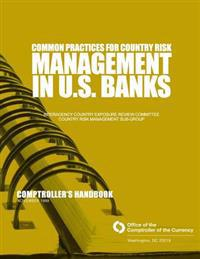 Common Practices for Country Risk Management in U.S. Banks