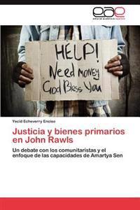 Justicia y Bienes Primarios En John Rawls