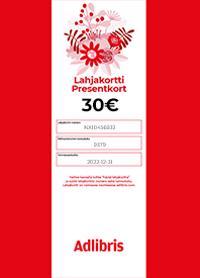 LAHJAKORTTI / PRESENTKORT 30 €;