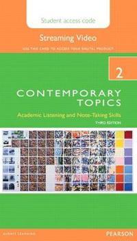 Contemporary Topics 2 Streaming Video Access Code Card