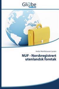 Nuf - Norskregistrert Utenlandsk Foretak - Marthinussen Larsen Andre   Ridgeroadrun.org