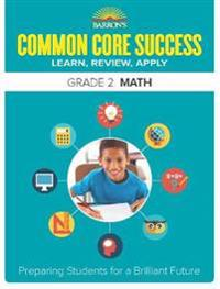Barron's Common Core Success Grade 2 Math