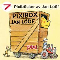 7 Pixiböcker av Jan Lööf