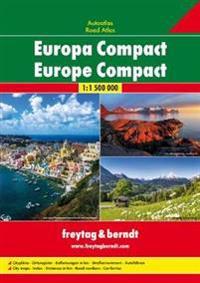Europa Compact Autoatlas 1 : 1.500.000