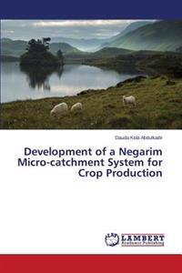 Development of a Negarim Micro-Catchment System for Crop Production