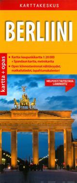 Berliini kartta + opas, 1:20 000