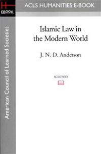 Islamic Law in the Modern World