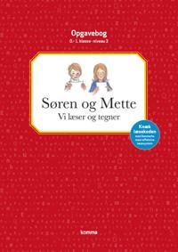 Søren og Mette - vi læser og tegner