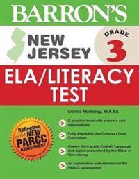 Barron's New Jersey Grade 3 ELA/Literacy Test
