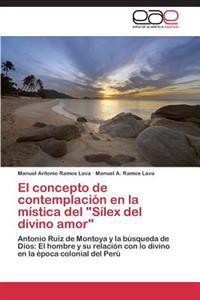 El Concepto de Contemplacion En La Mistica del Silex del Divino Amor