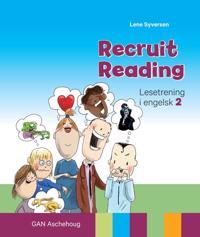 Recruit reading; lesetrening i engelsk - Lene Syversen   Inprintwriters.org
