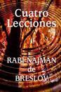 Cuatro Lecciones del Rabi Najman de Breslov
