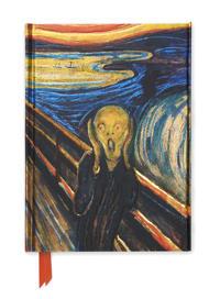 Edvard Munch the Scream Foiled Journal