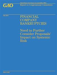 Financial Company Bankruptcies: Need to Further Consider Proposals' Impact on Systemic Risk