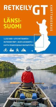 Retkeily GT Länsi-Suomi, 1:250 000