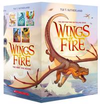 Wings of Fire Boxset  Books 1-5 (Wings of Fire) - Tui T. Sutherland - böcker (9780545855723)     Bokhandel